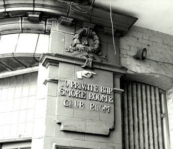 Sign at the Plough Public House 1977 [Z50-75-162]